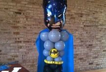 boy birthday balloons decor / by rosielloons