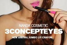 『STYLE.NANDA & 3CE 品牌』 / by Daphannie Ong