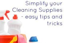Cleaning and Organization  / Keeping a household neat and tidy. Cleaning solutions and DIY ways to organize / by Live Well Utah
