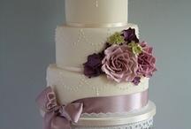 Wedding Cakes / Ideas for My Vintage Romantic Wedding Cakes / by Karen Irvine