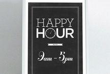 It's Happy Hour! / by Caroline DiBattista