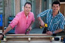 "MARK'S DIY PROJECTS - Home & Family / Here you'll find all of the DIY projects that host Mark Steines has completed on the show! He's never met a DIY project (or power tool!) he doesn't like! Watch ""Home & Family"" weekdays at 10a/9c on Hallmark Channel. / by Home and Family"