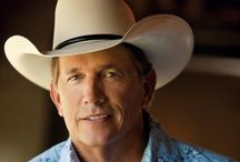 George Strait / George Strait is one of the best country music singers on this planet. There is NOT one song that I don't like. Love George! / by Linda Denver