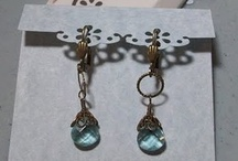 Jewellery craft display ideas / by Stitch and Sparkle