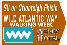 Wild Atlantic Way Walking Week / Some Pictures of the Wild Atlantic Way. Stay and explore at The Abbey Hotel Donegal.  Wild Atlantic Way Walking Week Abbey Hotel Donegal June 2014 8-12th http://www.abbeyhoteldonegal.com/?p=7770 / by The Abbey Hotel Donegal Town