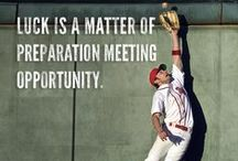 Baseball Motivational Quotes / Get inspired with this collection of motivational baseball quotes. / by Franklin Sports