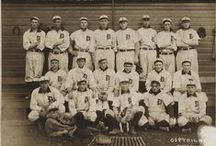 Vintage Baseball / Appreciate all that baseball has had to offer over the years. Old ticket stubs, vintage baseball cards, and photos of the legends offer just a glimpse into the history of America's favorite pastime.  / by Franklin Sports