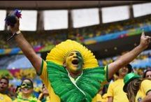 Fans of the 2014 FIFA World Cup / In honor of the 2014 FIFA World Cup, Franklin Sports has gathered images of some of the most enthusiastic fans we've ever seen from all over the world. / by Franklin Sports