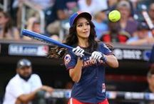 2014 MLB All-Star Legends And Celebrity Softball Game / See all the famous celebrities and legends who wore Franklin at this year's MLB All-Star Legends And Celebrity Softball Game. / by Franklin Sports