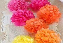 Flores Lazos y  Pompones / by Nila Cm