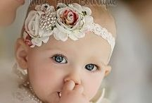Baby Headbands And Hair Clips / by Kathy Cleveland