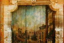 doors/portals / by Deborah Gorton