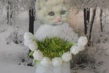 Chenille Cuties / Adorable Chenille ornaments, mostly animals / by Deb Jones