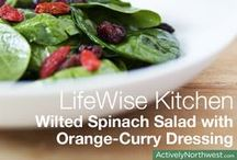 LifeWise Kitchen  / Welcome to LifeWise Kitchen! We've teamed up with Nourish Northwest, Bastyr Univeristy and Guckenheimer to provide you with healthy and delicious recipes all year long. / by Actively Northwest