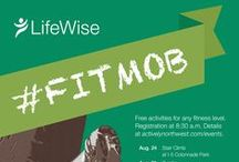 #FitMob / Join LifeWise Health Plan of Washington and Olympic swimmer Ariana Kukors for #FitMob – a series of six free Seatte events that offer healthy activities and expert training for people at all fitness levels.  / by Actively Northwest