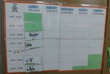 Organitzar l'aula / by La Caseta Un Lloc Especial