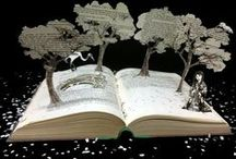 Art with paper / Papercutting, printing, typography, calligraphy, papermaking, writing... / by Pauline Paulette