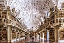 Libraries all over the world / Libraries all over the world filled with modern and ancient books #library #book #ancient / by Pauline Paulette