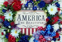 """""""America the Beautiful"""" / Patriotism is alive in me.  I love this land and appreciate the brave people who have fought to keep us free.  Bless God, America! / by Lydia Hooper"""