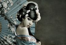 Asia Look / Asia Fashion, Japanese Room, Zen Look, Beautiful Landscapes,  ...and all thisgreat asian look and things inspired by it. japanese Kimono and Hakama, vietnamese Ao-Dai, chinse Qipao, korean habock Obi-belt and Corset like Obi style. / by Matthias Feist