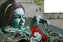 Stencils, Tags, Burners, and Murals / by Dustin Wyatt