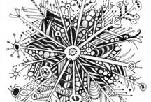 ZenTangle, DooDLing & Journaling..  / by Amal Zarour