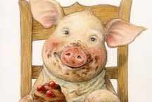 OINK OINK / by Nadine Nelson-Quadracci