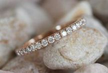 Wedding Rings & Bands / From classic to modern rings! You can find beautiful rings for husbands and wives here!  / by Become