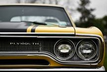 Cars / Classics. Muscle Cars. Pony Cars. Mopar and more.  / by Patrick VonSpreckelsen