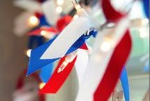 Fourth of July Decor Ideas / by Become