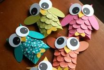 Paper Crafts / by Anjanette (mommayoungathome.com)