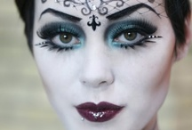 Goth Make-up and Skin / It isn't easy, it takes time and creativity. That is what this board is about. Showing the deepest, darkest make-up in it's finest forms.  / by VampireFreaks