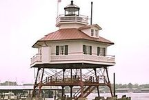 Lighthouses Around the World / A collection of lighthouses from around the world. / by WDT