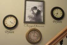 photo wall ideas / by Rhonda