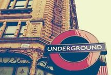 london underground / by Jessica Huang