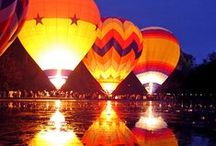 Hot Air Balloons / by Diane Helt