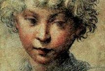 El dibujo y el boceto. / Carbón, sanguina, lápiz, tinta...Leonardo de Vinci dijo,que primero era la forma, después el volumen y por último el color. ´´Antes que nada debes dibujar lentamente y mirar qué luces participan de la claridad mayor, qué sombras son las más oscuras, cómo se mezclan y en que proporción.´´ / by Mari Carmen Bermudez Dominguez