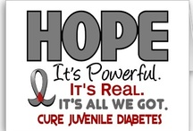 Type 1 Diabetes Awareness / Please... Don't be part of the ignorance..making Diabetes a stereotype and a stigma. Educate yourselves!... Knowledge is Power! / by Sara M.