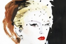 Art - Illustration   Fashion / Mostly graphic arts & sketches- with a few high contrast B&W photos thrown in.           I have a Rene Gruau board also- I like his style so much / by EastEnder