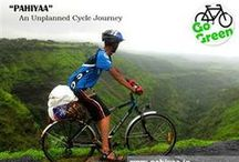 "Pahiya - Unplanned Cycle Journey by Himanshu Singh / Mr. Himanshu Singh a young, energetic, ambitious person from Bihar, found home in Ahmedabad, has a passion to do ""cycling tour"". He has taken up the challenge individually since 2010 and has been successful in his endeavor so far. His next exciting unplanned journey from Ahmedabad to Leh by Bicycle.  ""Go Green So No To Fuel""  / by Start51 - Crowdfunding India"