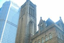 Allegheny County Courthouse / The most lasting and well-known symbol of Allegheny County is the Courthouse and Jail complex designed in 1883 by Boston Architect Henry Hobson Richardson and built between 1884-1888. These internationally recognized historic structures reflect Hobson's stature as one the greatest architects in the history of American architecture, and continue to draw visitors from throughout the world who marvel at the buildings' simple style, dignity and strength. / by Allegheny County