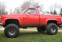 4x4 CHEVY pickup trucks /  4x4 pickups  / by shane white