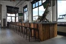 Restaurant & Commercial Space Decor / Interior decor is an important part of any successful restaurant, shop,  bar, or cafe.  Here you will find rustic restaurant design ideas and photos that will inspire you.   / by Real Antique Wood