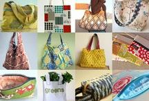 Bags, Totes, Purses Free Patterns / by Dragonfly Fiberart Pattern Company