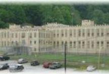 OLD JAILS & PRISONS / by Nancy Gilmore Meeks
