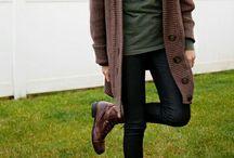 Fall/winter wardrobe / by Allison Weaver