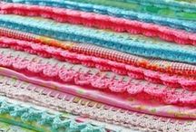 Crocheted Edgings / by CraftsCrazy