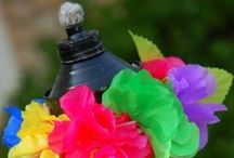 Luau Party Ideas / Luaus aren't just for summer. Give any party a Hawaiian feel in a few simply steps!  / by PartyCheap.com