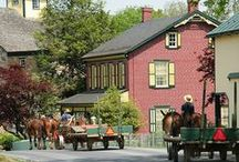 Lancaster County, PA / Tour Guide to the Amish Country / by Mary Lancaster