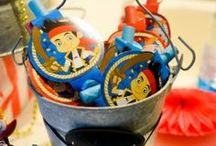 Jake and the Neverland Party Ideas / If your little one loves the pirates more than anything this theme is perfect for you! check out our party ideas and then go to PartyCheap.com for all of your party supplies!  / by PartyCheap.com